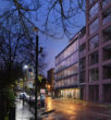Anna Freud Centre Campus Rodney Street night view Workplace SEN Penoyre & Prasad