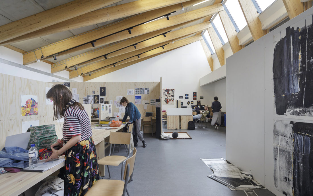 New Studios - Wimbledon College of Arts 1