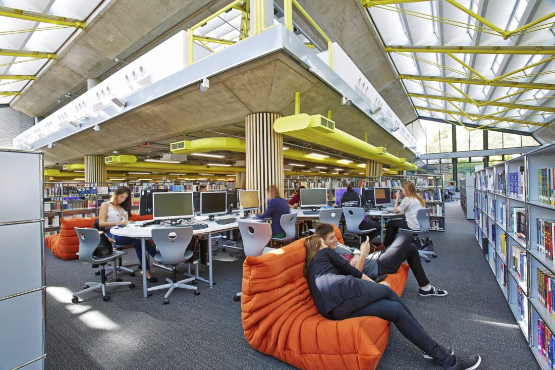 Library Remodel - University of Portsmouth 2