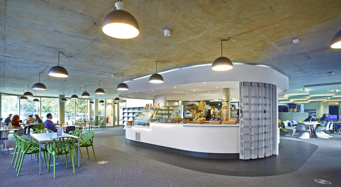 Library Remodel - University of Portsmouth 5