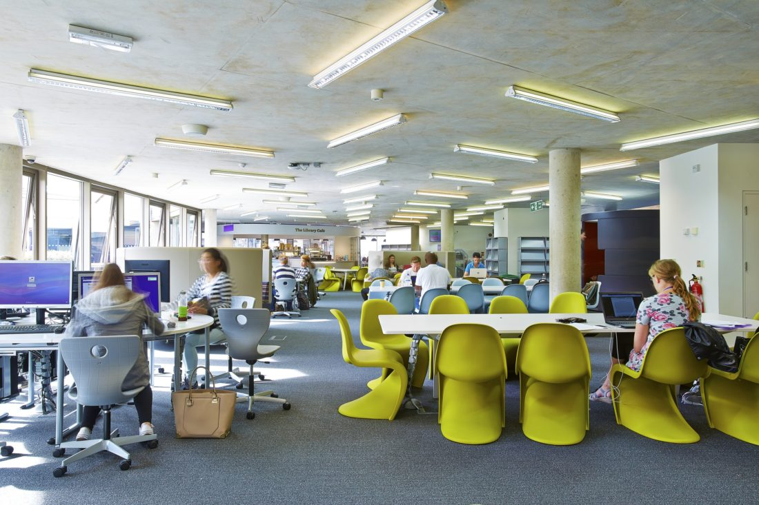 Library Remodel - University of Portsmouth 4