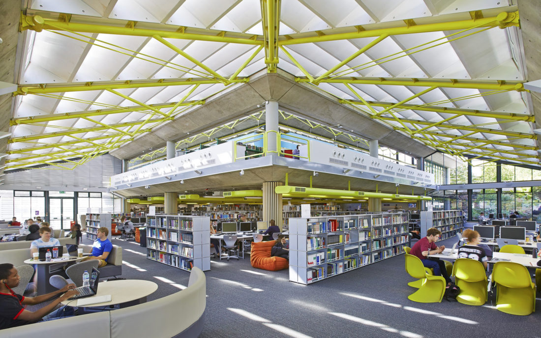 Library Remodel - University of Portsmouth 1