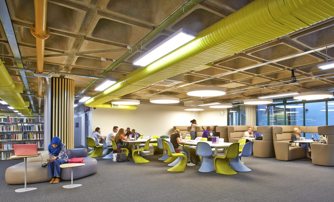 Library Remodel - University of Portsmouth 6