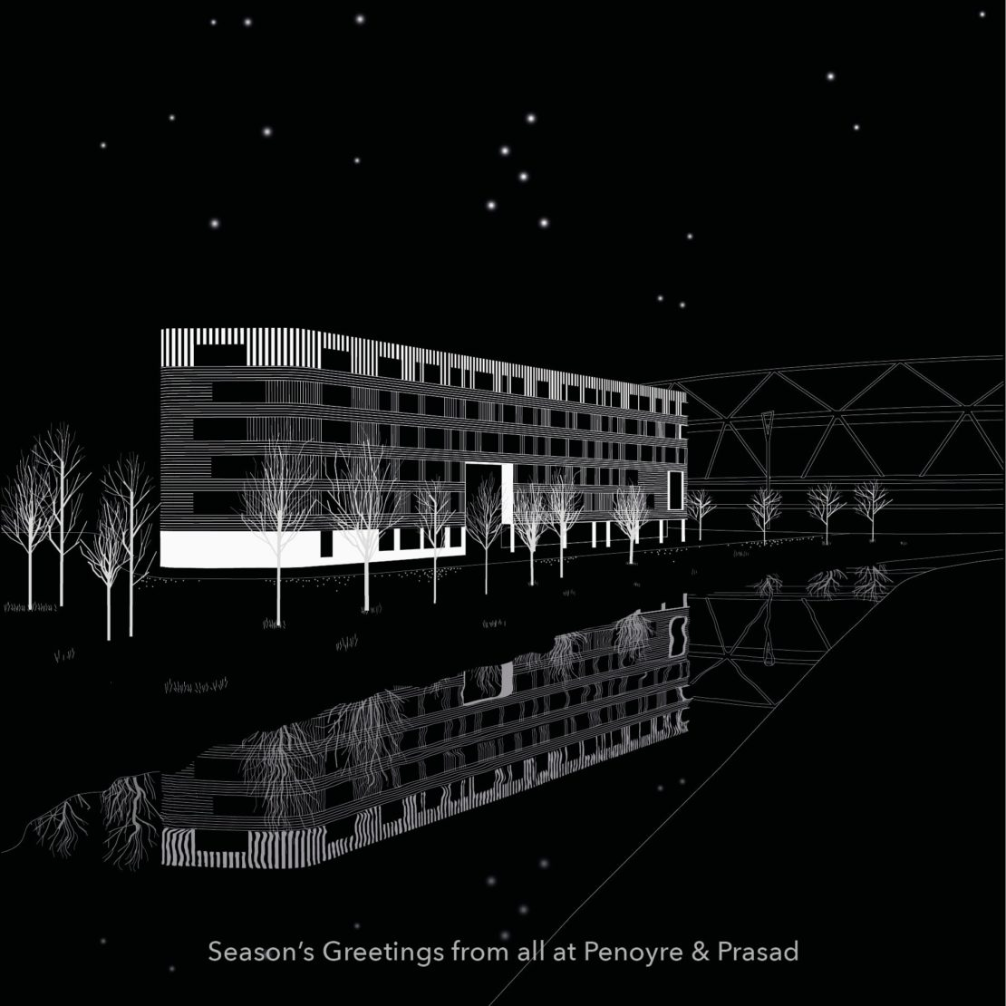 Best wishes from Penoyre & Prasad