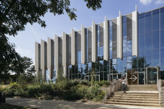 Formal Opening of Templeman Library