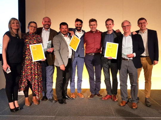 Triple RIBA Award win for Sibson