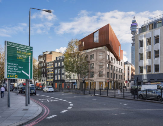 Planning achieved for Birkbeck, University of London