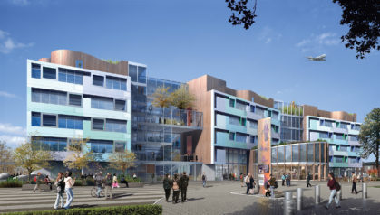 BSF Exemplar: What does a new school on a tight urban site look like? 3