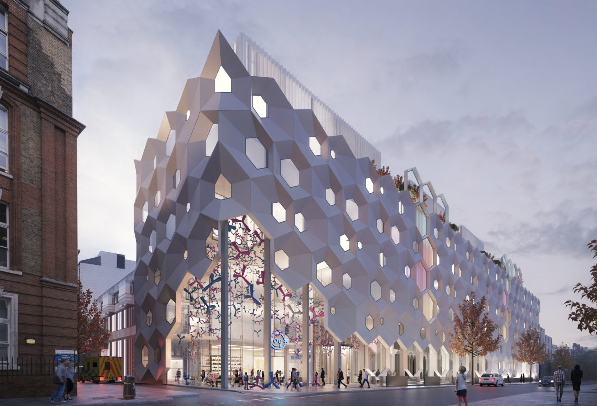 Great Ormond Street Hospital Facade Study