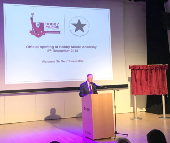 Official opening of Bobby Moore Academy Secondary School