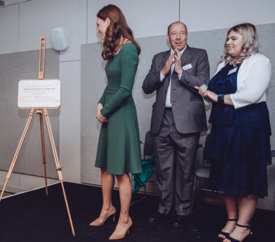 HRH The Duchess of Cambridge opens new Anna Freud Centre
