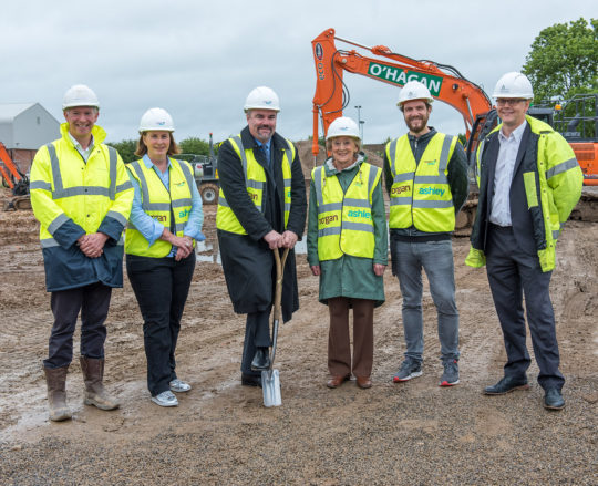 Turf Cutting event marks the start of Burnholme Care Home construction