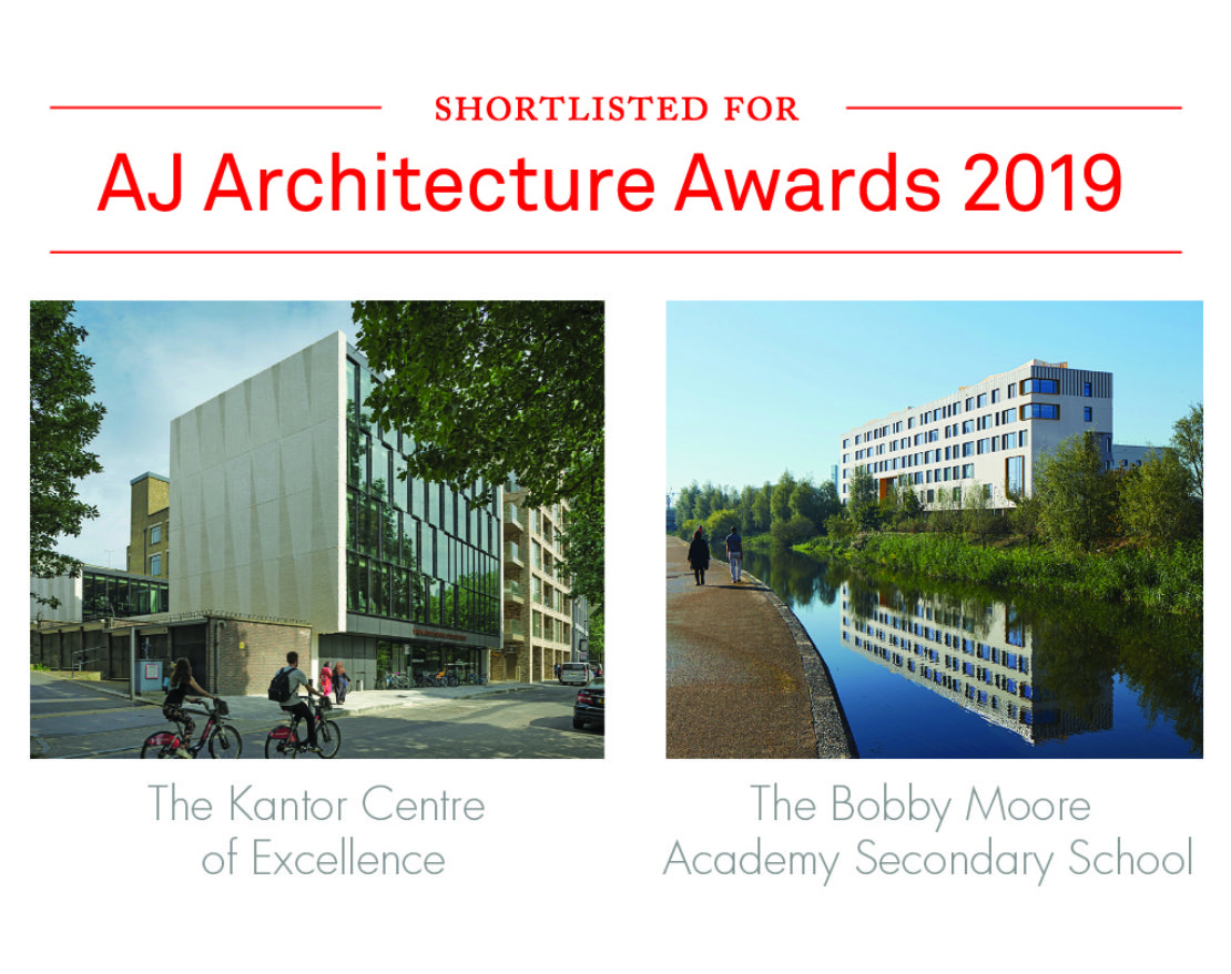 AJ Awards – two shortlisted projects