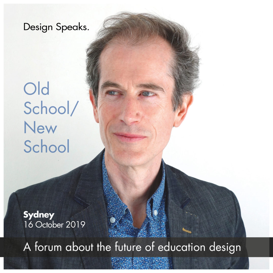 Ian Goodfellow is keynote speaker at 'Old School/New School', Sydney