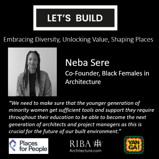 Let's Build – Raising the Demographic To 45% BAME