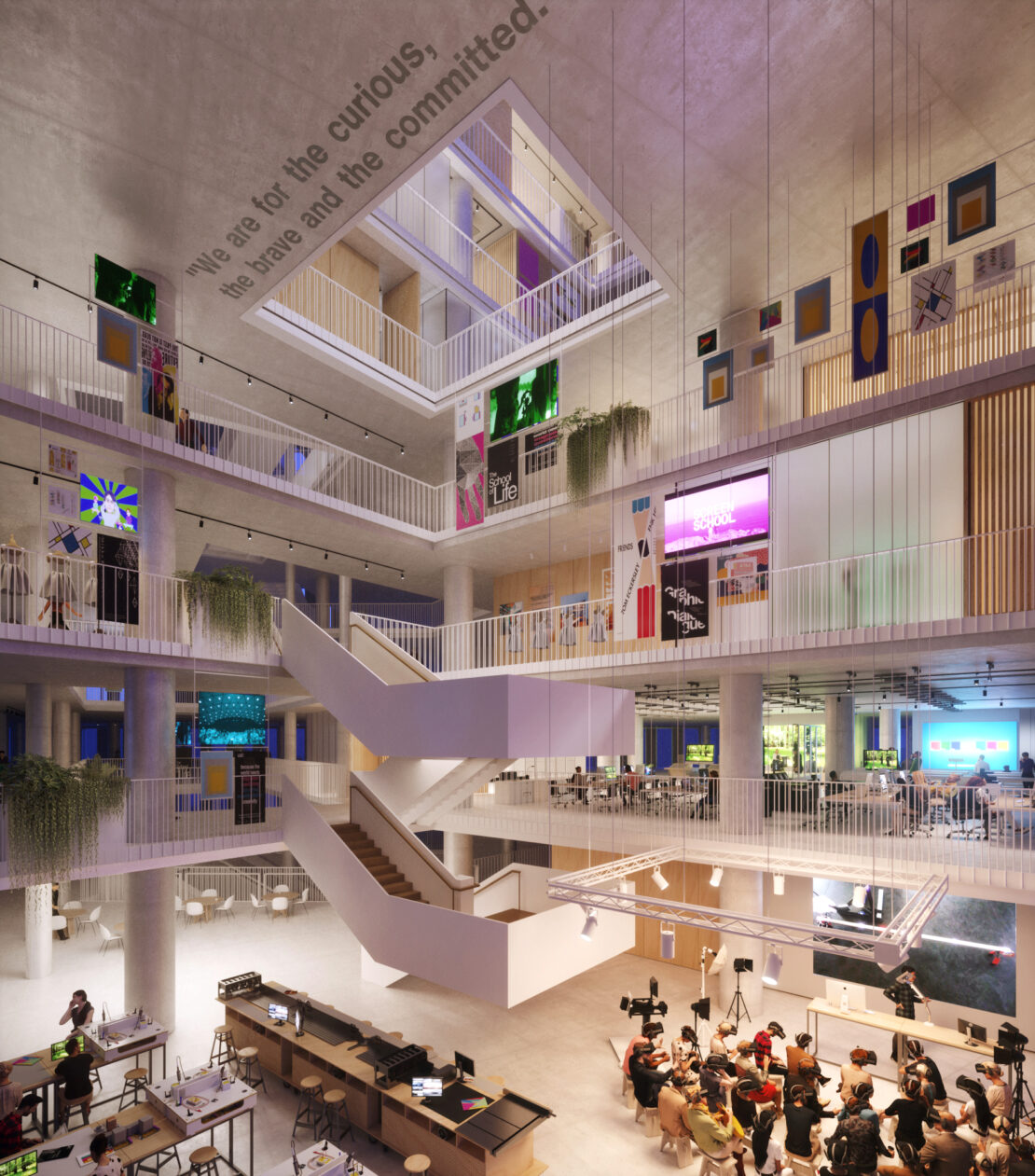Major competition win to design new home for UAL's London College of Communication